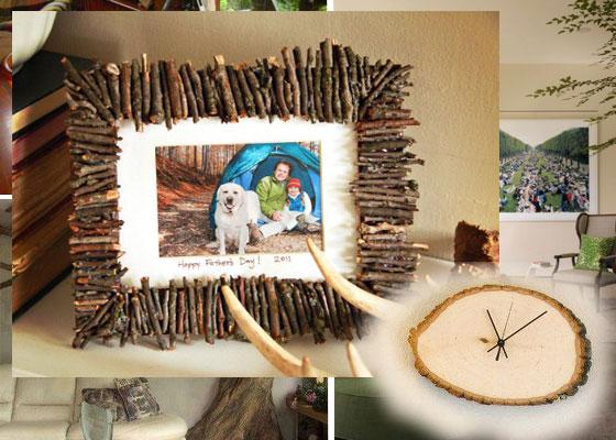 dekoracija i ukrasa od drveta